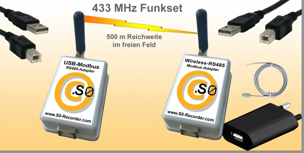 Wireless-Modbus-Funk-Set